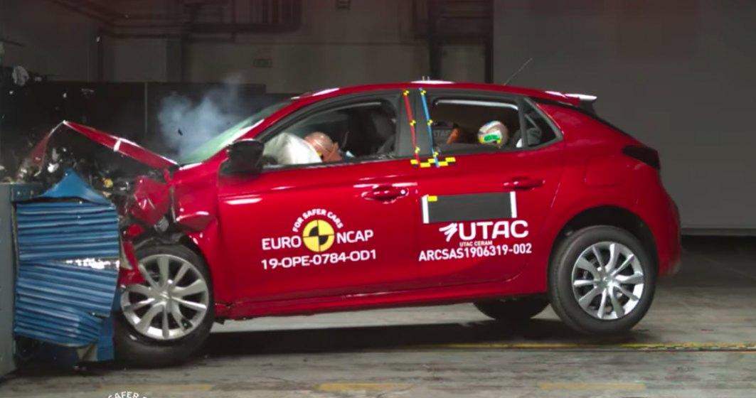 Euro NCAP a testa 4 modele noi de masini. Un model a primit 4 stele