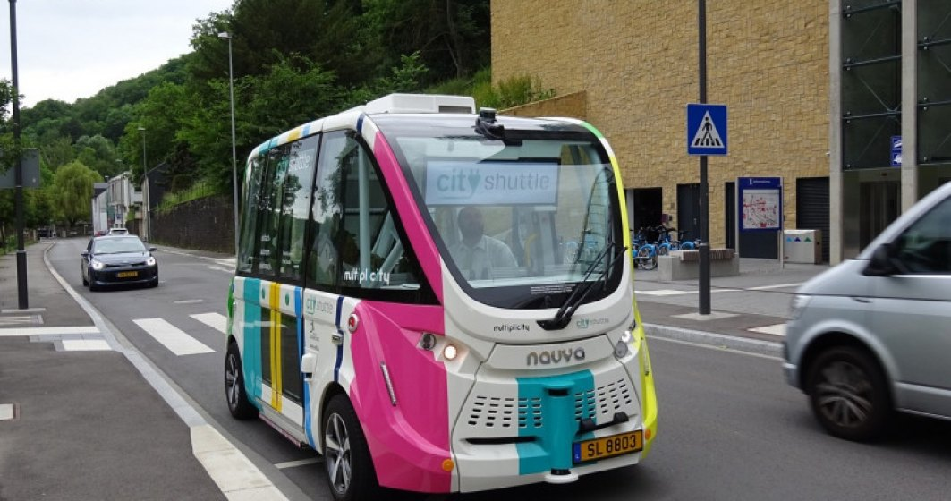 Brașov, unul dintre cele trei orașe din Europa selectate pentru a testa un autobuz electric fără șofer