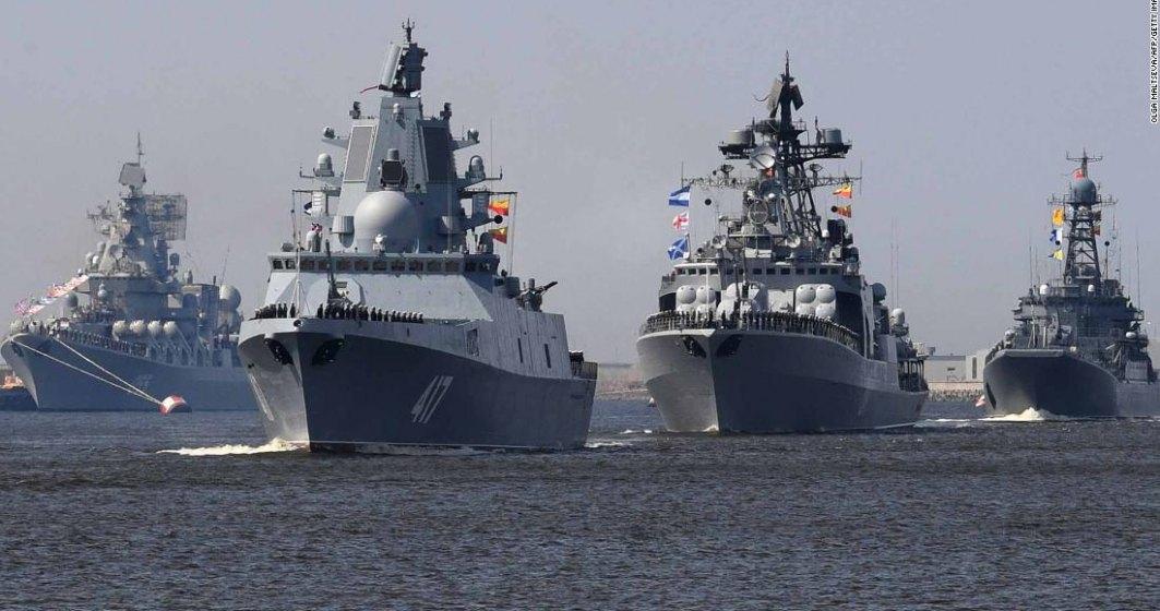 """Rușii își """"încordează mușchii"""" în Marea Neagră, în timp ce NATO derulează exerciții militare"""