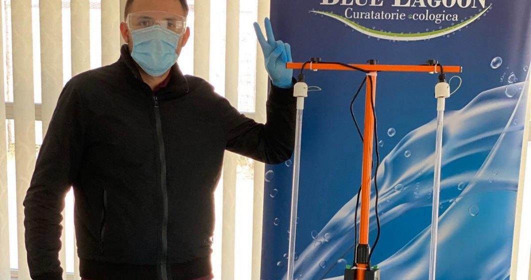 Compania românescă Blue Lagoon Clean a început producția unor kituri de lămpi UVC împotriva virusurilor și a bacteriilor