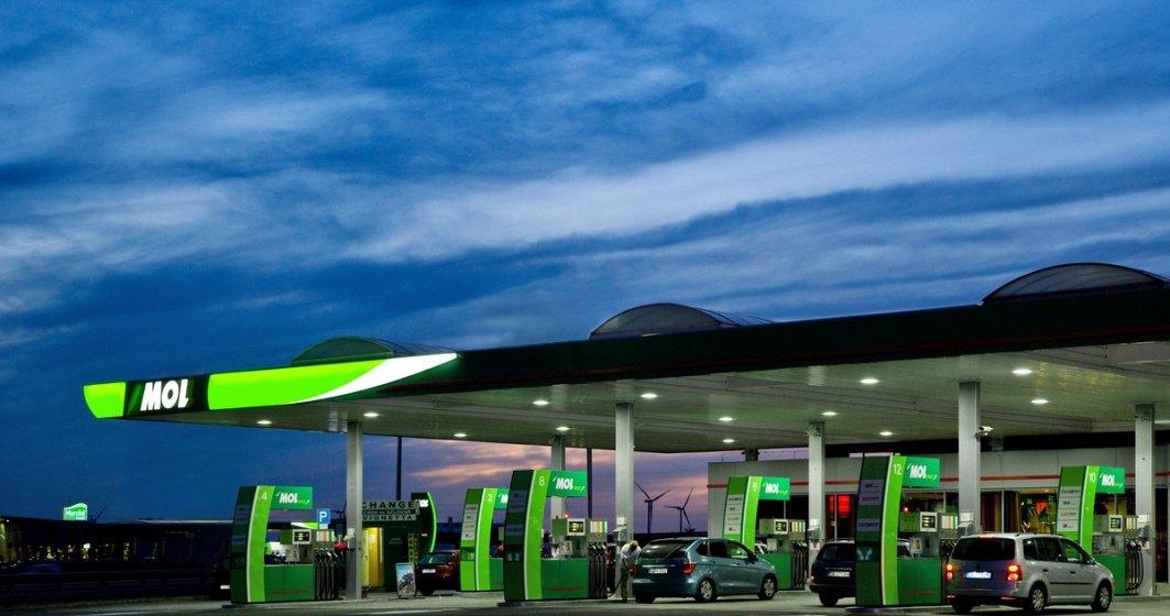 Vanzarile MOL de motorina au crescut in primele 3 luni, iar cele de benzina au scazut