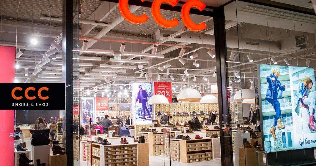Retailerul CCC a deschis 7 noi magazine de cand a preluat operatiunile locale de la francizor si a ajuns la o retea de 62 de unitati