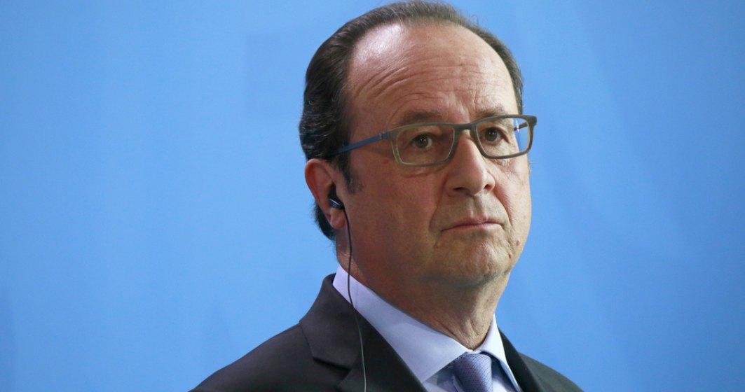 Cortina cade peste presedintia lui Francois Hollande