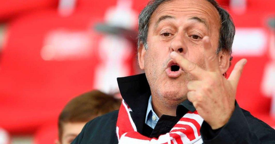 Michel Platini, fost presedinte UEFA, ARESTAT