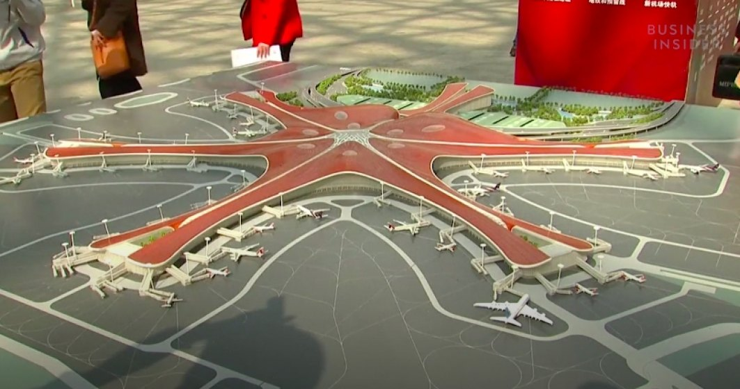 China construieste un mega-aeroport in Beijing