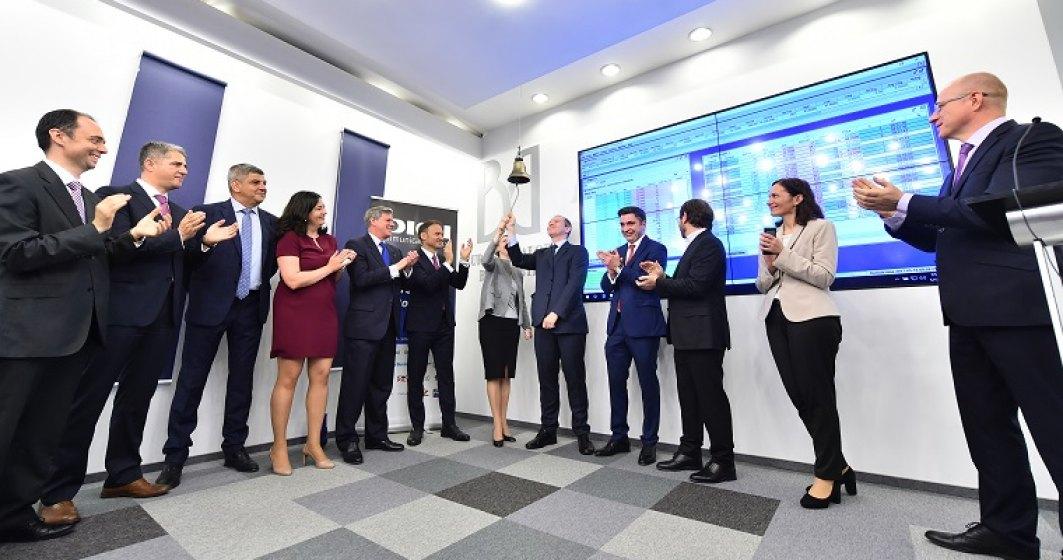 Pe hartie, investitorii au castigat si 17% in prima zi a Digi pe bursa. Compania evaluata oficial la 912 mil. euro