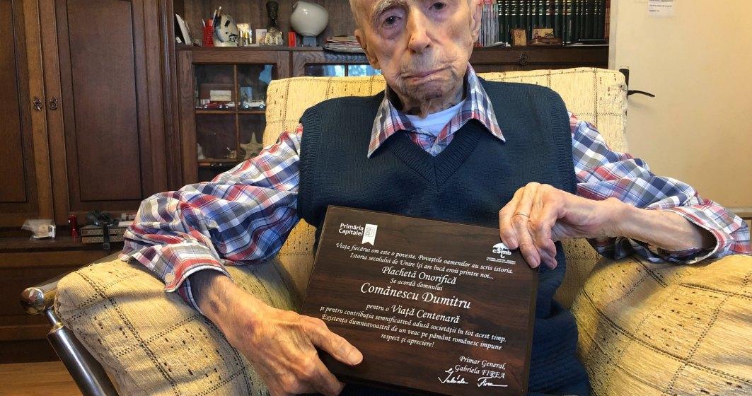 A murit Dumitru Comănescu, românul care timp de o lună a fost cel mai vârstnic bărbat din lume