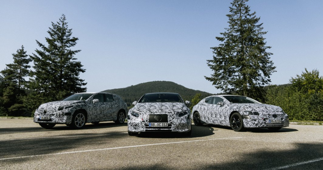 Noua strategie Mercedes-Benz pentru electrificare: gama de electrice EQ crește la 8 modele