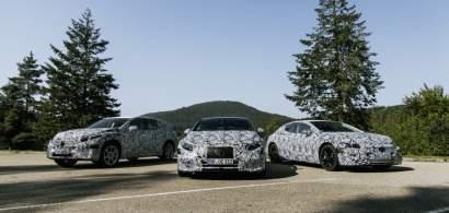 Noua strategie Mercedes-Benz pentru electrificare: gama de electrice EQ...