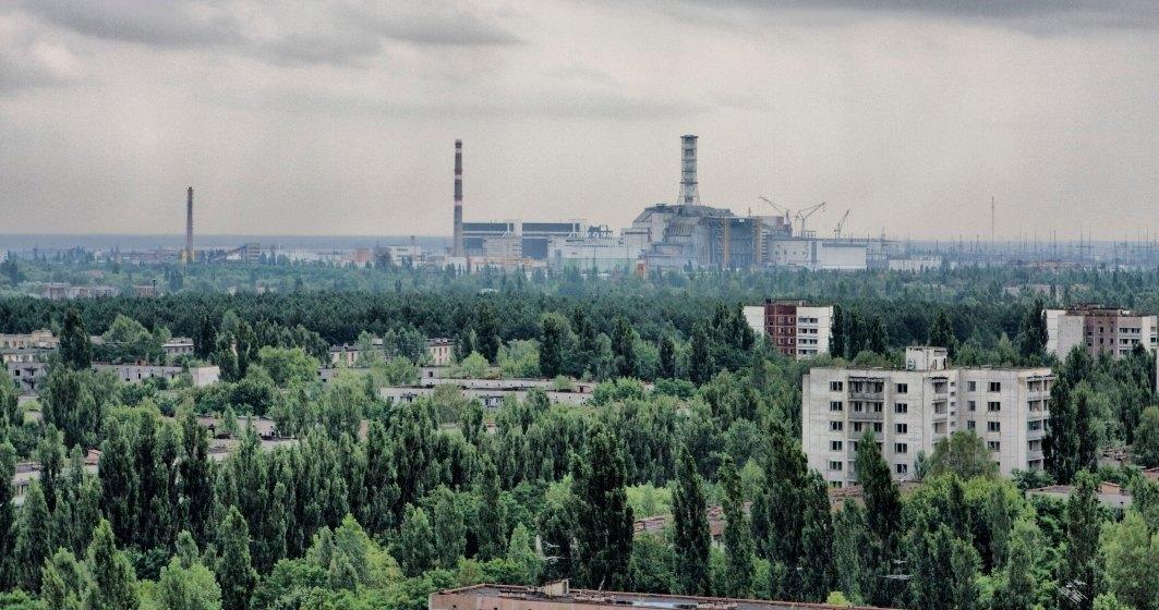 Incendiile de pădure de la Cernobîl persistă şi sunt alimentate de vântul puternic