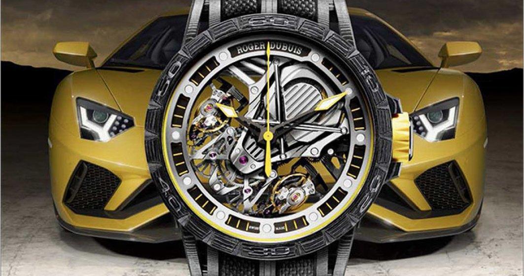 Ceasul in editie limitata Roger Dubuis Excalibur Aventador S a ajuns in Romania. Costa 210.000 euro