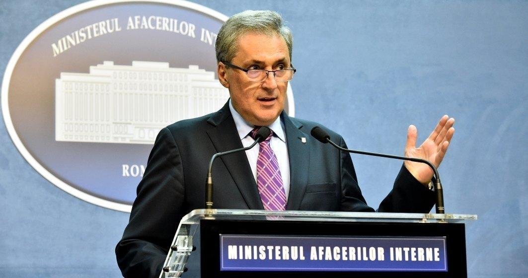 Declarații la Ministerul de Interne. Este anunțată odonanța militară numărul opt