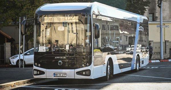 Primul autobuz electric românesc va fi testat pe traseele circulate de elevii...