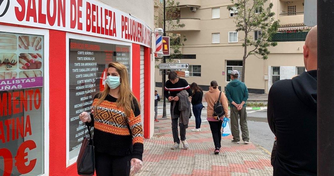 Coronavirus: Spania anunţă încă 769 decese, un bilanţ record pe o zi