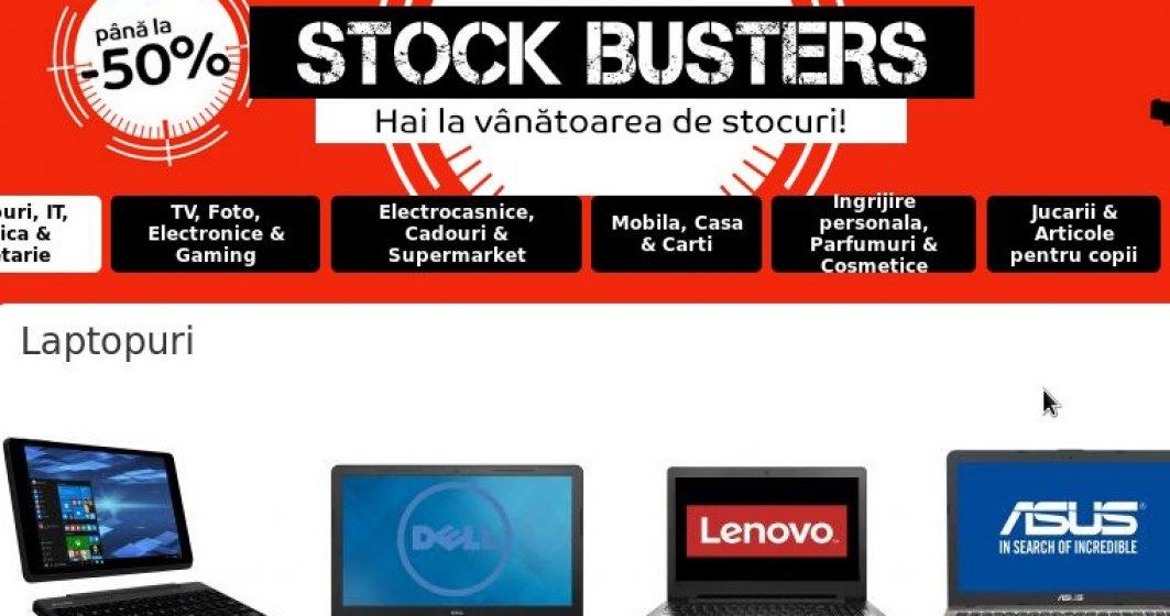 Reduceri eMAG: Oferte greu de refuzat la laptopuri si monitoare, de Stock Busters