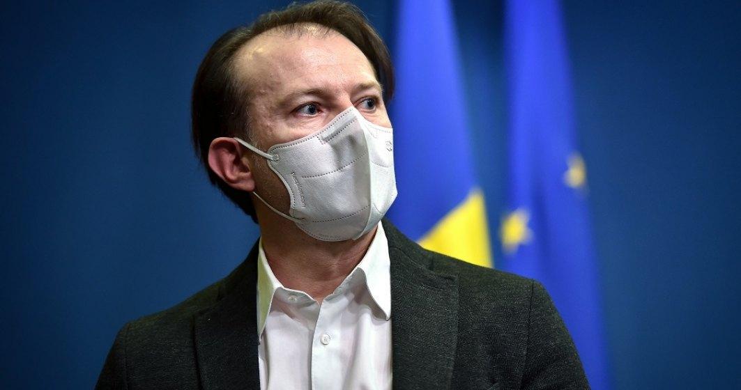Cîțu: Cu unele dintre măsurile propuse de ministrul Sănătăţii privind vaccinarea sunt de acord, cu altele nu