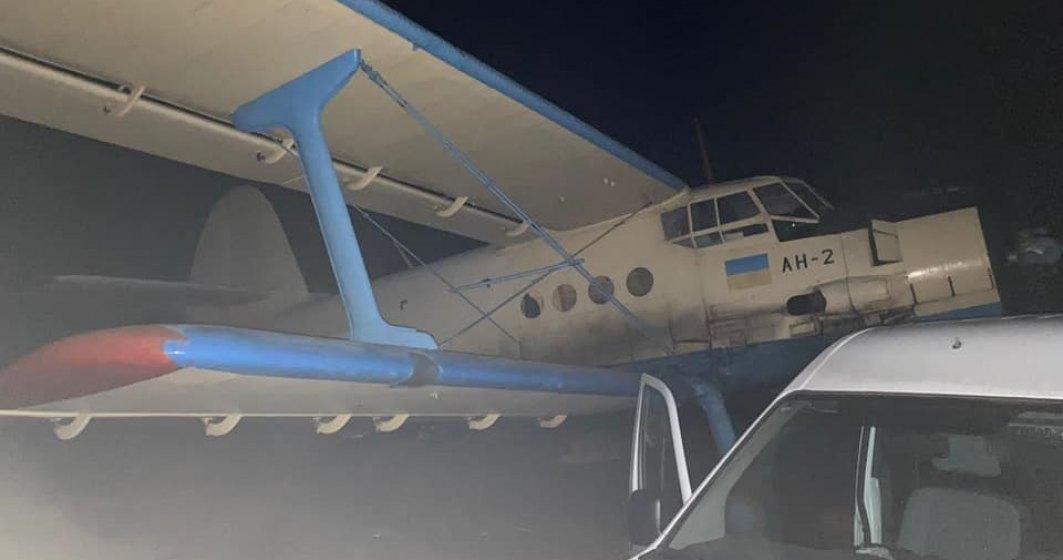 Un avion cu țigări de contrabandă din Moldova a fost reținut înainte să intre în România