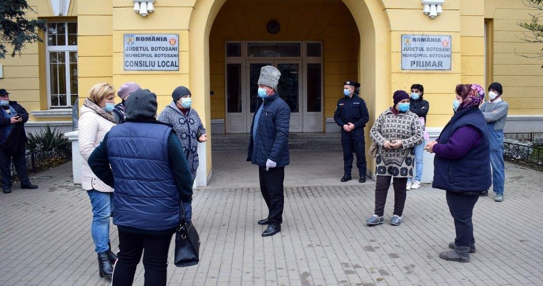 Protestele piețarilor continuă și în țară. Comercianții din Botoșani, nemulțumiți de închiderea piețelor