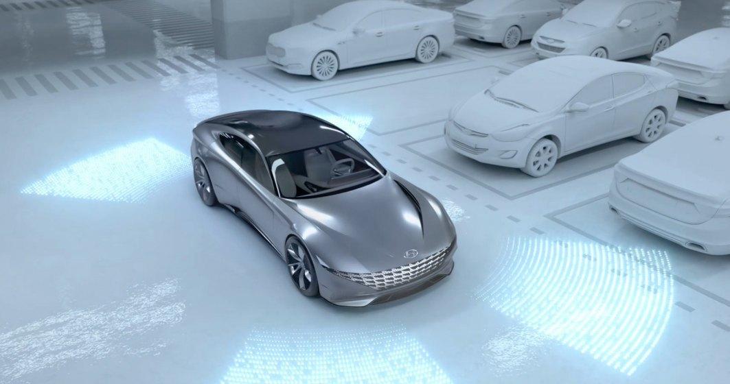 Hyundai prezinta un sistem de incarcare automata, fara fir a viitoarelor sale masini electrice