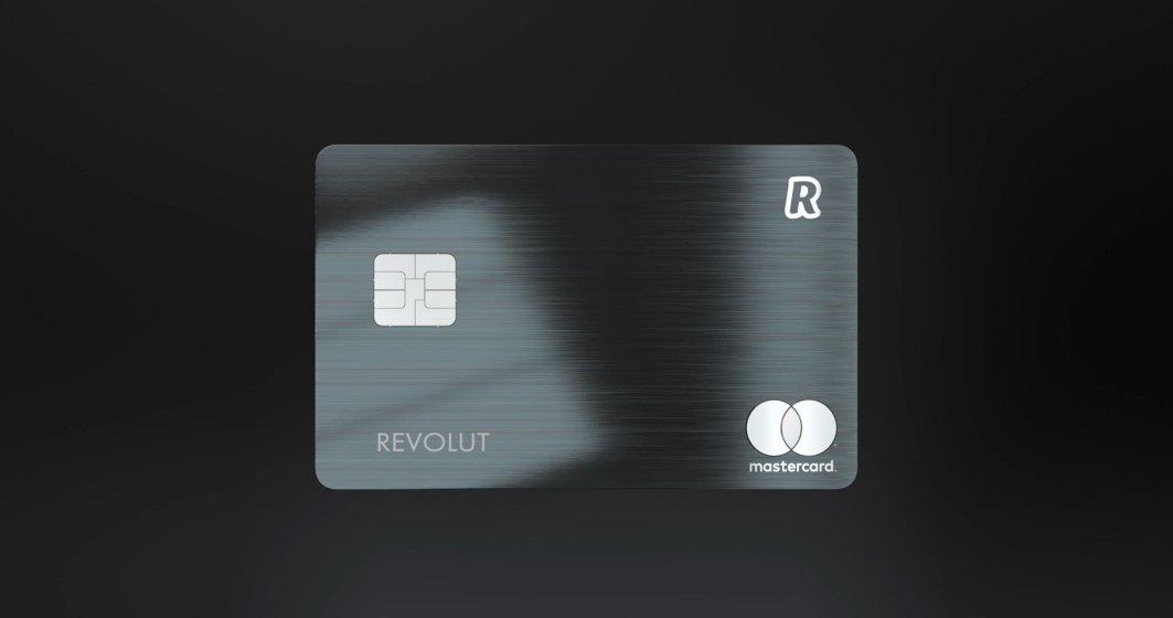Revolut lanseaza un card din metal cu beneficii suplimentare fata de cele premium si cash-back de pana la 1%