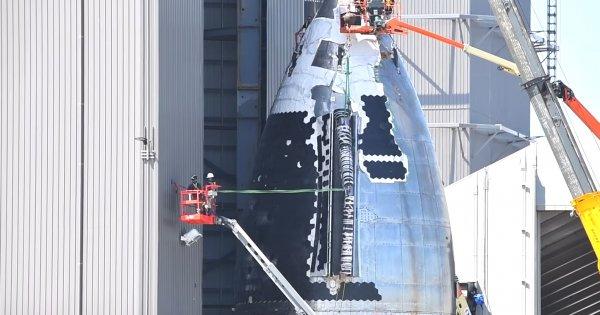 VIDEO | Cum este asamblată Starship, racheta cu care Elon Musk vrea să...