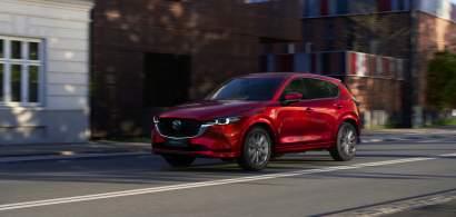 Mazda CX-5 primește o versiune actualizată în 2022