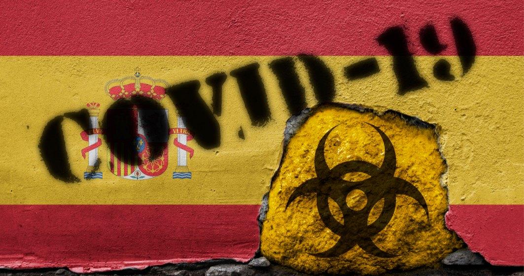 Spania, pe primul loc la numărul de cazuri de COVID raportate la populație în ultimele 14 zile
