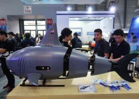 """China """"lovește"""" din nou. Țara a construit o dronă rechin care să spioneze..."""