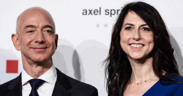 Jeff Bezos se alatura unui grup select de miliardari dupa divortul de...
