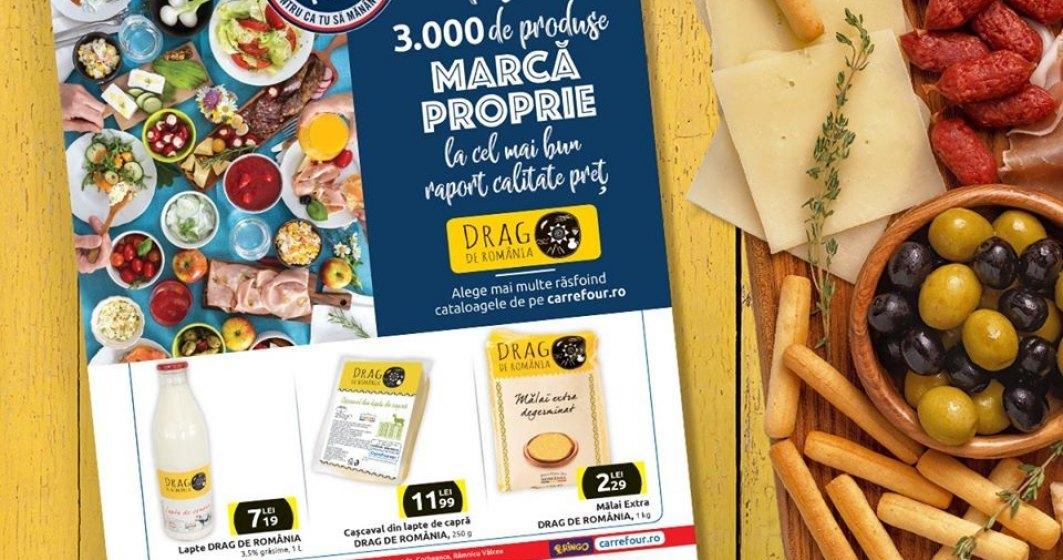 Carrefour semnalizează produsele sănătoase printr-o etichetă specială