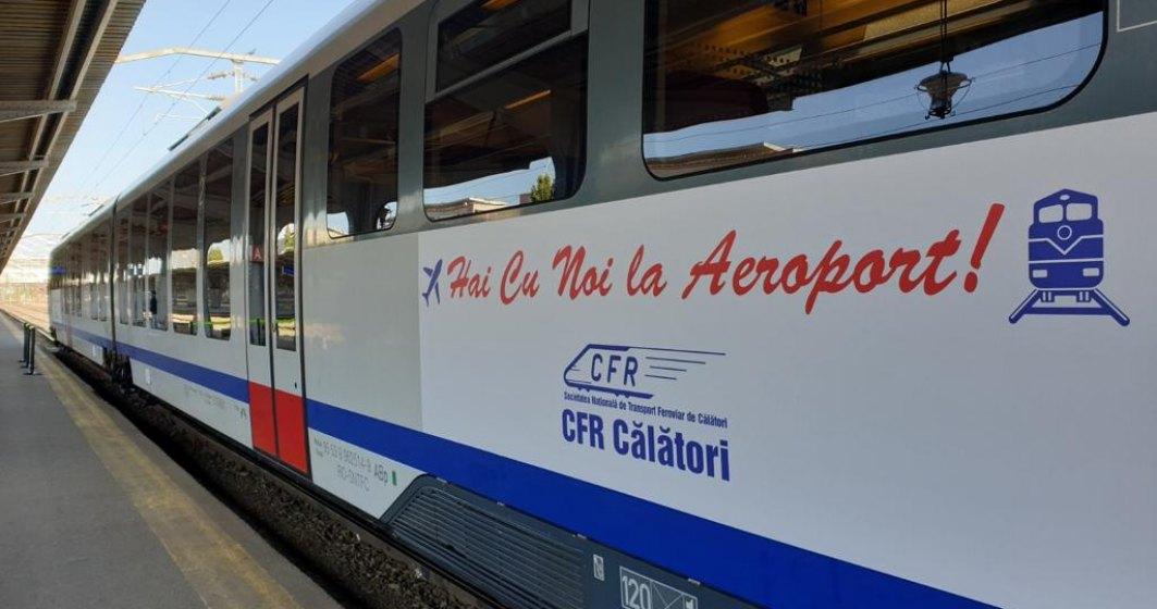 Trenul Gara de Nord - Aeroport Otopeni: cât va costa un bilet