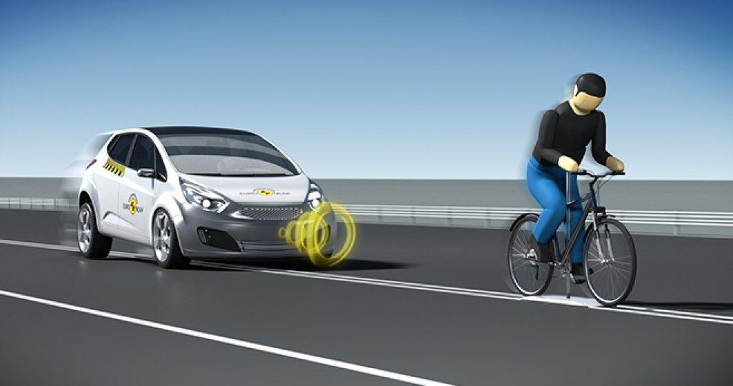 Premiera: Euro NCAP introduce testele pentru biciclisti