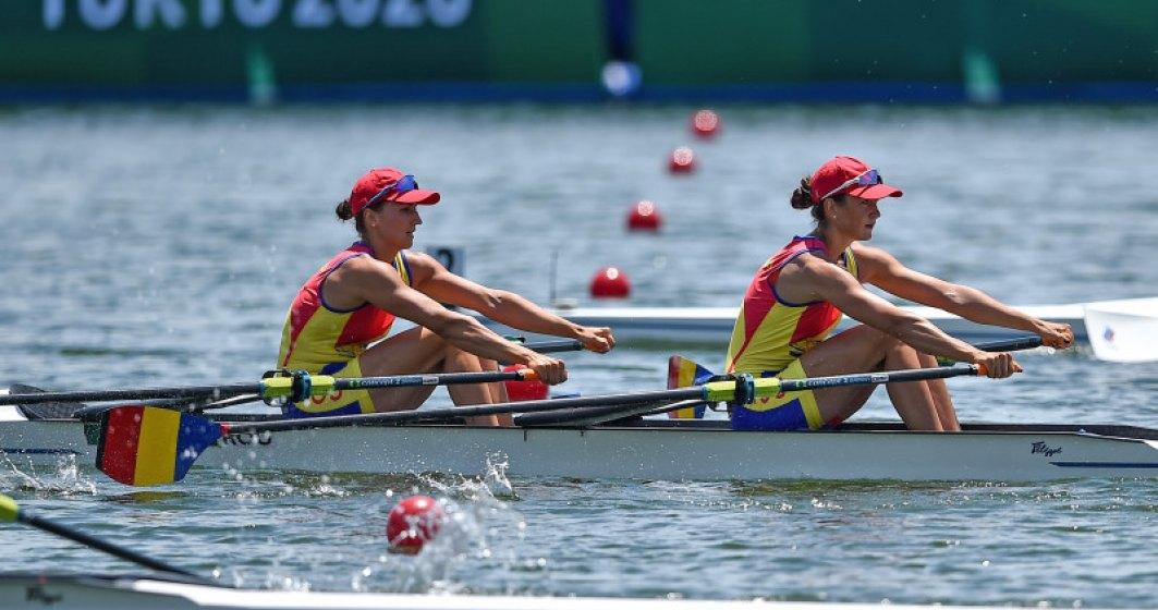 Prima medalie de AUR pentru România la Tokyo: Ancuța Bodnar și Simona Radiș s-au impus detașat în Finala de la Sea Forest Waterway