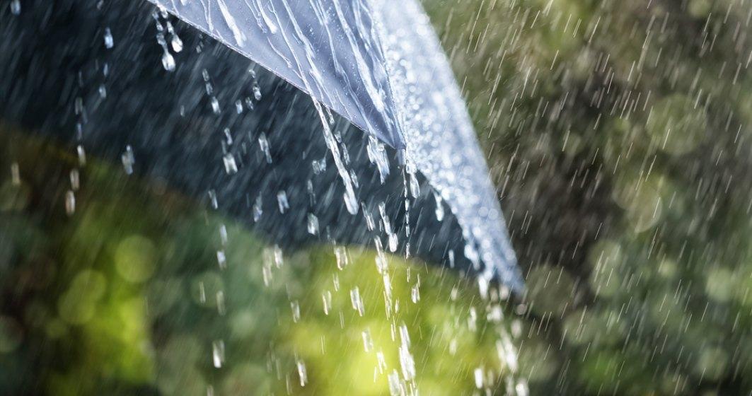 Valori termice apropiate de normele climatologice si precipitatii excedentare, in intervalul martie-mai