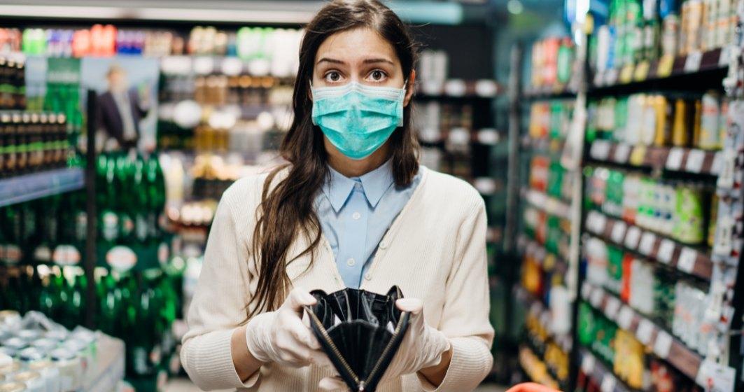 Analiză: Pe fondul pandemiei, salariile din mediul privat au crescut doar cu 3%