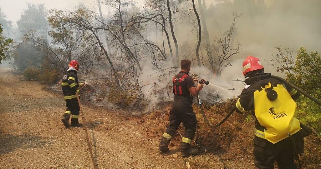 Vacanțe gratuite în Thassos pentru pompierii români care ajută la stingerea incendiilor