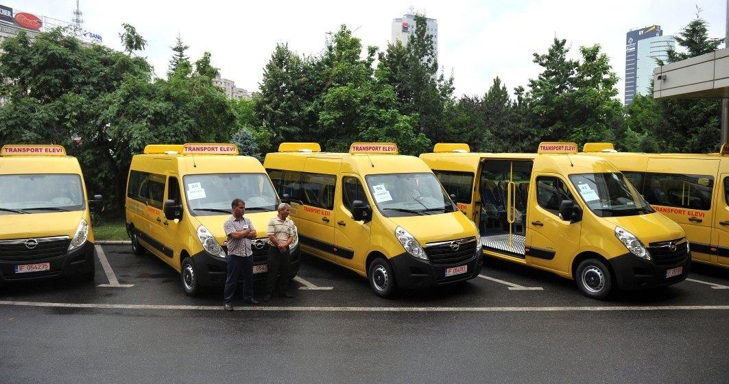 Ministerul Dezvoltării vrea să achiziționeze 150 de microbuze școlare