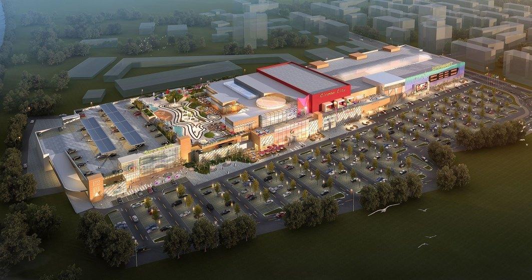 Arena Mall Bacau: extindere cu 60% a suprafetei, investitie de 20 mil. euro
