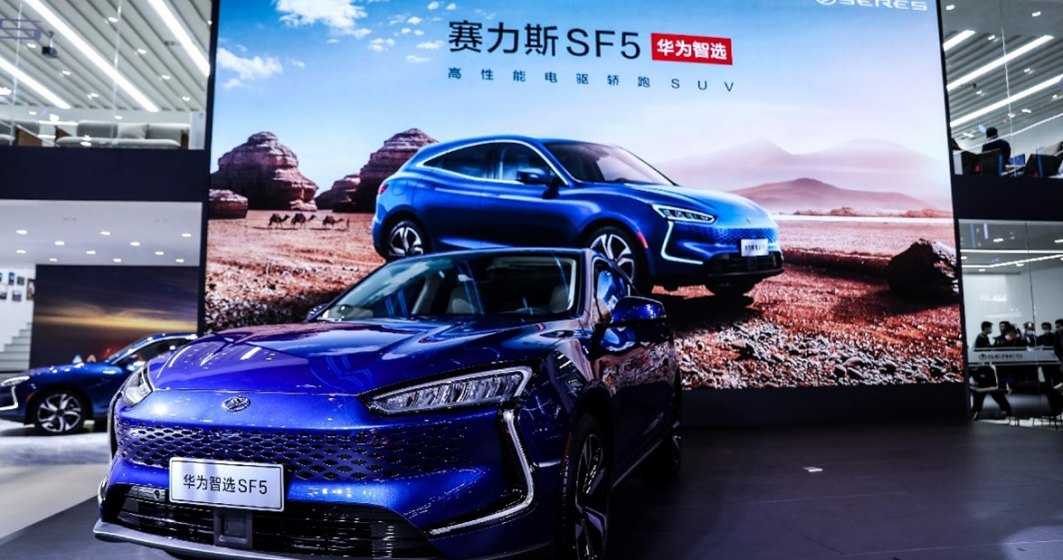Huawei începe vânzarea de mașini electrice bazate pe tehnologia proprie
