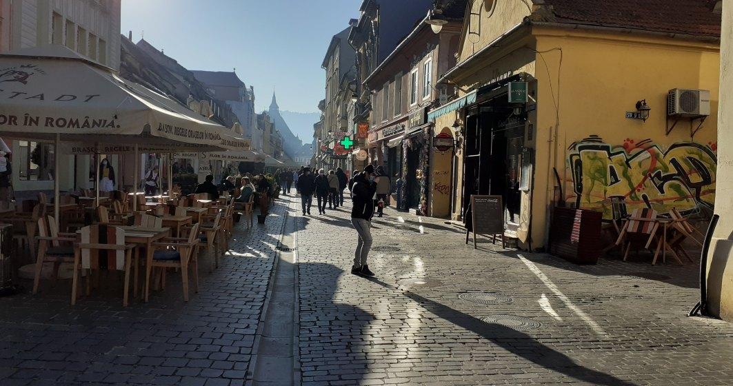 COVID-19   Cum a arătat Brașovul în weekend-ul de dinaintea intrării în vigoare a noilor restricții