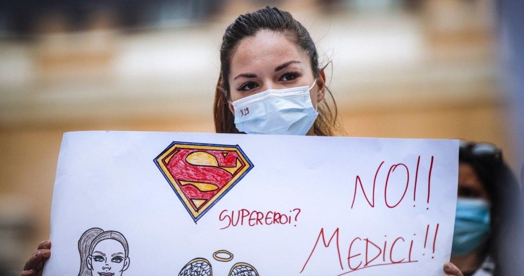 Mii de medici au ieşit în stradă în Italia pentru a cere o reformă