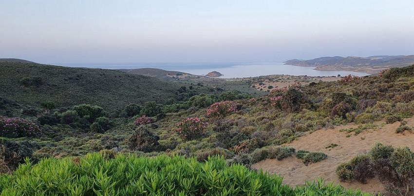 Dunele de nisip Lemnos Grecia