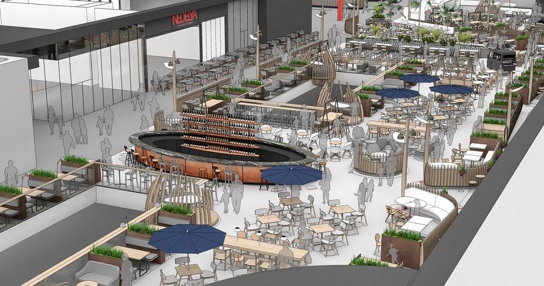 NEPI Rockcastle investeste 3,5 mil. euro in zona de food court si divertisment a Mega Mall