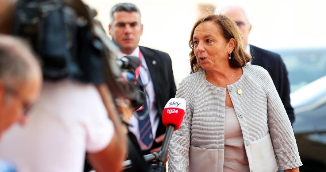 """""""Nu exista nicio invazie"""" de imigranti in Italia, sustine noul ministru de interne Luciana Lamorgese"""