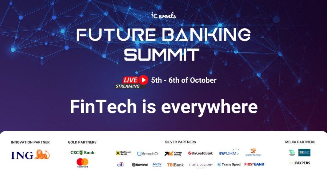 Experți din banking, fintech și marketing dezbat viitorul serviciilor financiare la Future Banking Summit