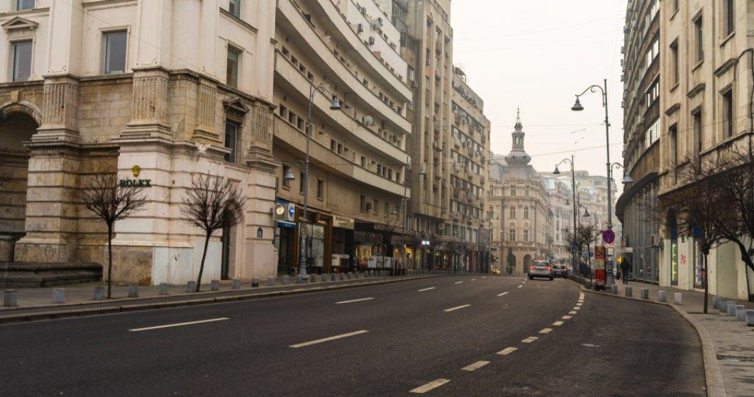 Poluare în București: Valori foarte mari au fost înregistrate din nou de senzori în timpul nopții