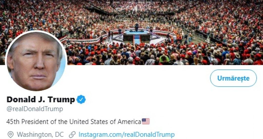 Twitter nu exclude suspendarea contului lui Donald Trump