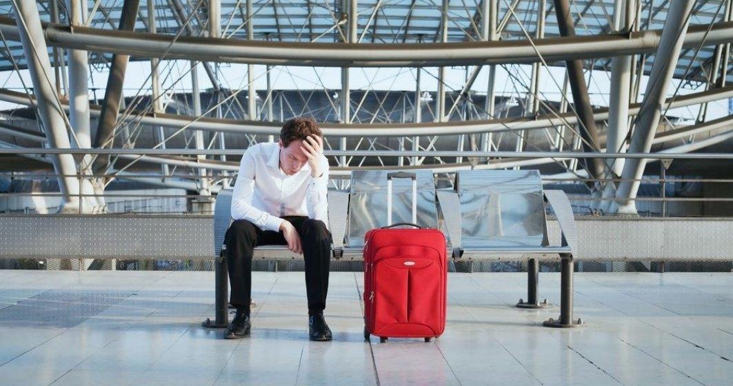 Numarul pasagerilor afectati de intarzieri ale zborurilor s-a dublat in ultimii 5 ani