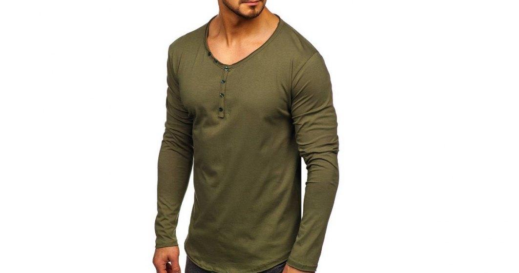 (P) Ce se poartă acum: tricouri cu mânecă lungă pentru bărbați