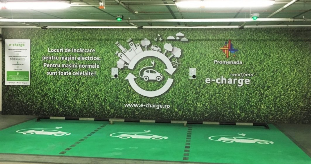 Mall Promenada si Renovatio e-charge au deschis doua benzinarii electrice